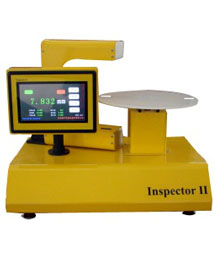 Board thickness on-line measuring instrument
