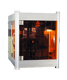 Laser crystal inside carving machine Sub-6000
